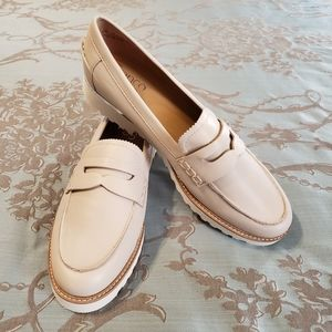 Franco Sarto Cedra Leather Loafers NWOT